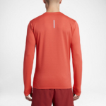 Camiseta Running Nike Zonal Cooling Relay manga larga para hombre - color naranja