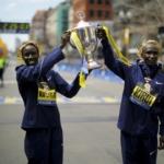 Los keniatas Edna Kiplagat y Geoffrey Kirui se llevaron el Maratón de Boston 2017