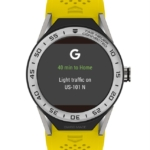 Reloj Smartwatch Tag Heuer Connected Modular 45 - Amarillo