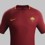 Camiseta de fútbol Nike del club AS Roma para 2017- 2018