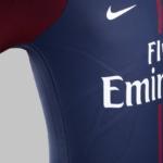 Camiseta de fútbol Nike del club Paris Saint-Germain para 2017- 2018