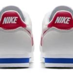Nike Cortez 2017 vista del talón - edición especial 45 aniversario