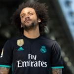 Camiseta del Real Madrid 2017 - 2018 de visitante -Marcelo