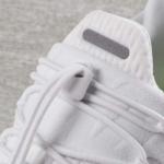 Zapatilla para correr Nike Free RN Commuter 2017 color blanca - detalle de lazada elastizada