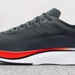 Zapatillas para correr Nike Zoom Vaporfly 4% color azul oscuro - vista lateral