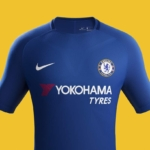 Camiseta Chelsea FC Nike 2017 - 2018 de local
