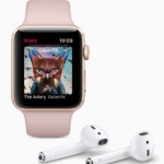 Apple Watch Series 3 música AirPods 2017