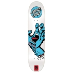 Skateboard Santa Cruz Screaming Hand White
