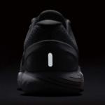 Nike LunarGlide 9 mujer - detalle talón reflectivo