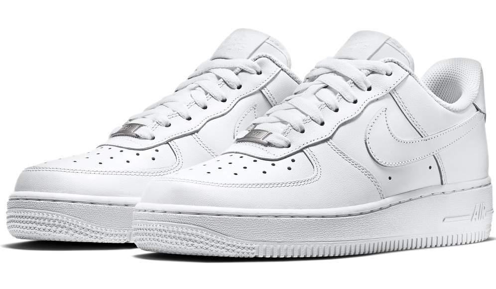d1caedc51bb Zapatillas Nike Air Force 1 triple blancas