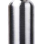 Botella de agua de acero inoxidable o cantimplora