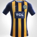Camiseta Rosario Central Nike 2018 - detalle frente