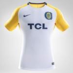 Camiseta Rosario Central Nike 2018 visitante - frente