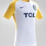 Camiseta Rosario Central Nike 2018 visitante - detalle lateral