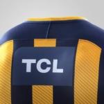 Camiseta Rosario Central Nike 2018 - detalle cuello posterior