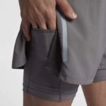 Short Nike Distance 2 en 1 2018 para hombre - detalle bolsillo para smartphone móvil o celular