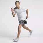 Short Nike Distance 2 en 1 2018 para hombre - detalle de la amplia abertura al costado para agarrar tu teléfono