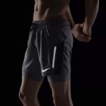Short Nike Distance 2 en 1 2018 para hombre - detalles de elementos reflectantes para correr de noche