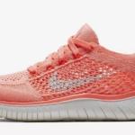 Zapatillas para correr Nike Free RN Flyknit 2018 mujer carmesí - natural running
