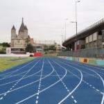 Pista de Atletismo en Parque Chacabuco de acceso libre y gratuito en Buenos Aires