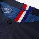 Camiseta Francia 2018 FFF Vapor Match Home Nike - detalle botón