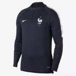 Camiseta de fútbol manga larga Francia 2018 FFF Squad Drill Nike