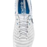 Botín de fútbol Blanco Nike Tiempo Elite Azul - Rusia 2018