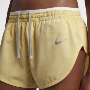 Short de running Nike Elevate de 8 cm para mujer - color limón