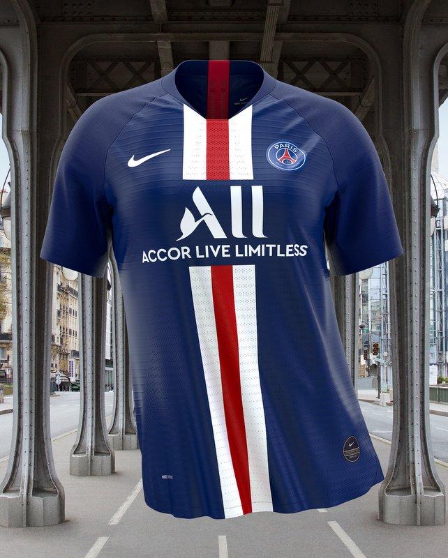 Camiseta Nike PSG Home 2019 - 2020 Paris Saint Germain