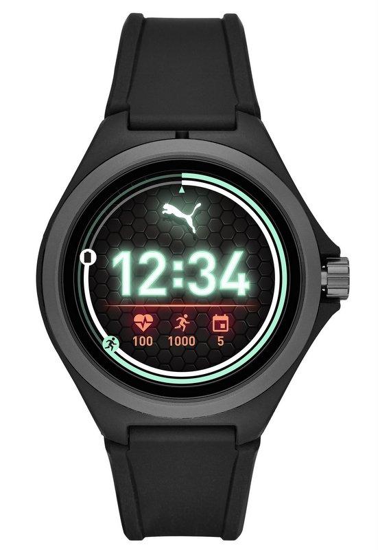 Puma Smartwatch 2019 con sistema Wear OS de Google y procesador Qualcomm color negro