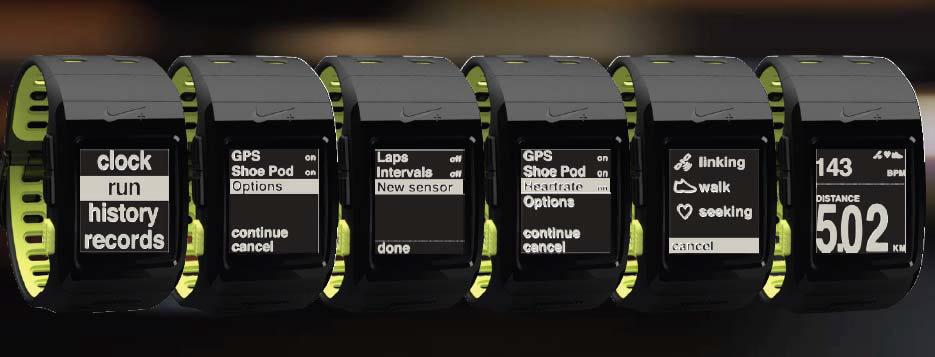 Reloj para correr Nike TomTom con GPS
