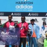 Maratón 42k adidas de Buenos Aires 2014 - Podio femenino