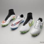 Botines Nike presentados en Diciembre Shine Through Collection
