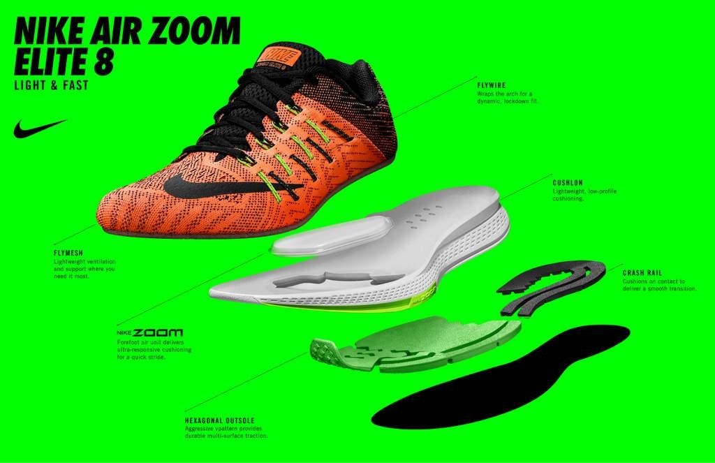 Zapatillas para correr Nike Air Zoom Elite 8 - Amortiguación Zoom