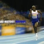 Mo Farah batió el récord mundial de las dos millas en pista cubierta con un registro de 8:03.40