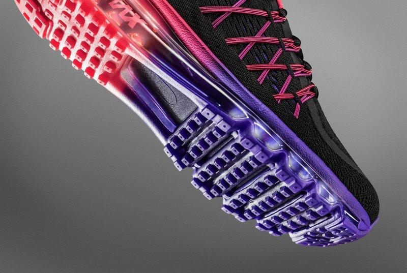 Zapatilla para correr Nike Air Max 2015 Flywire - Mujer