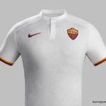 Nueva camiseta y equipo alternativo AS Roma 2015-16 de Nike