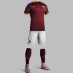 Nueva camiseta y equipo AS Roma 2015-16 de Nike