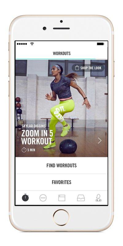 App Nike+ Training Club