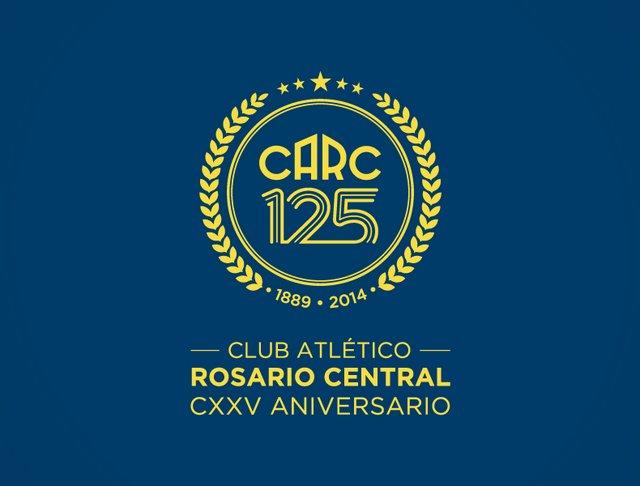 Rosario Central Escudo 125 Aniversario