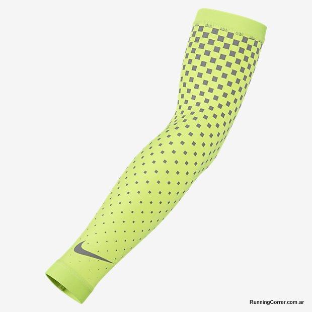 Manga o manguito para correr reflectiva UV Nike Running