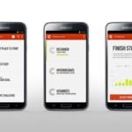 Nike+ Running App con la prestación Nike+ Coach para Android