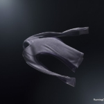 Camiseta de Lana Cuello en V Nike Dri-Fit Wool - Mujer