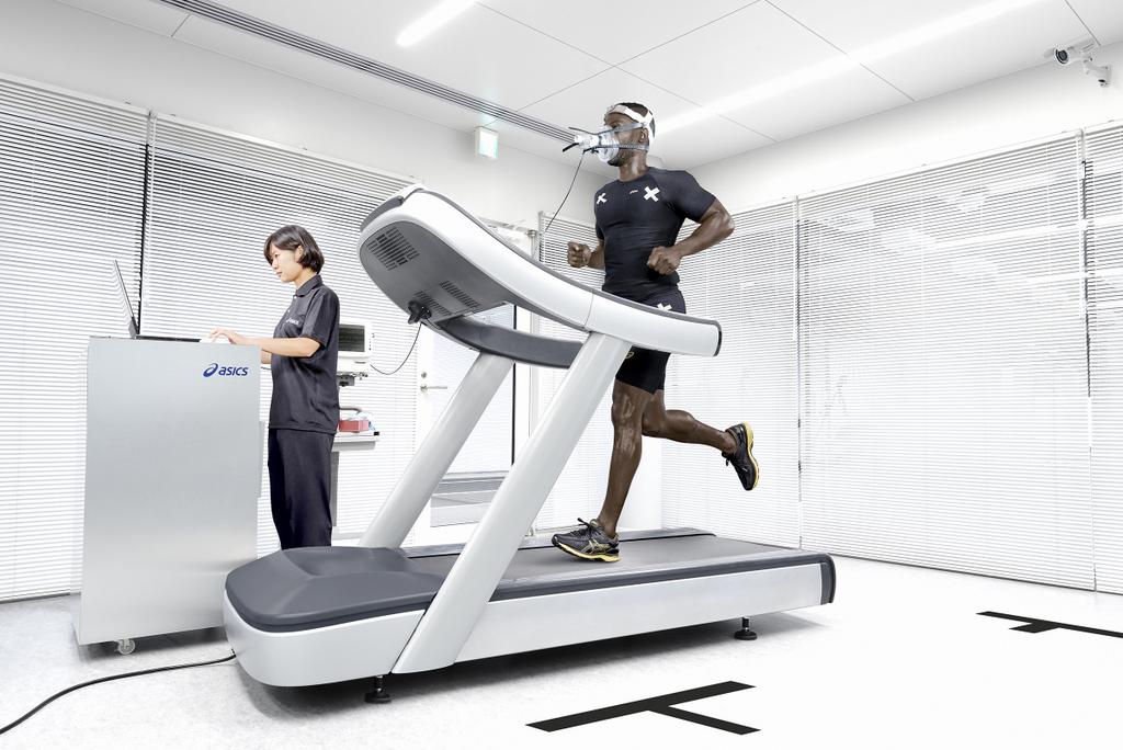 Instituto ASICS de Deporte y Ciencia ubicado en Kobe (Japón) - Test de zapatilla