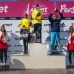 Podio categoria masculina Media Maratón Arnet 21K - 2013
