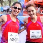Rosa Godoy y Sandra Amarillo alcanzaron el podio de los 21k