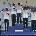 Media Maratón de Bogotá 2013 - podio masculino