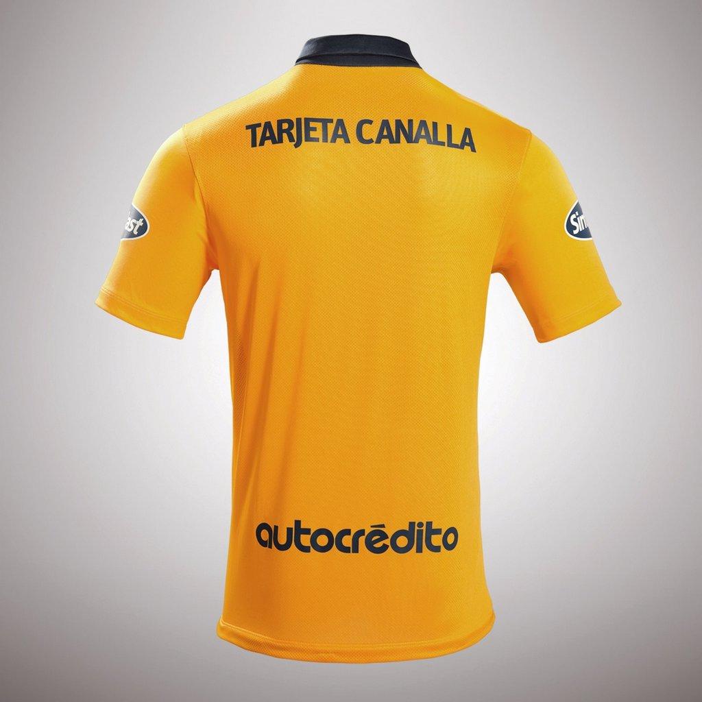 Camiseta suplente de Rosario Central Nike 2016 - Dorso