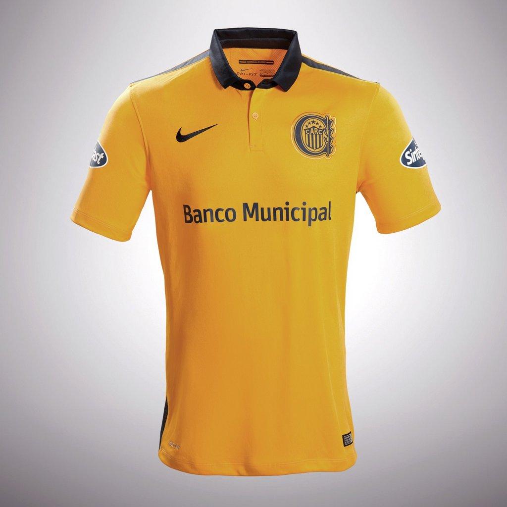 Camiseta suplente de Rosario Central Nike 2016 - Frente
