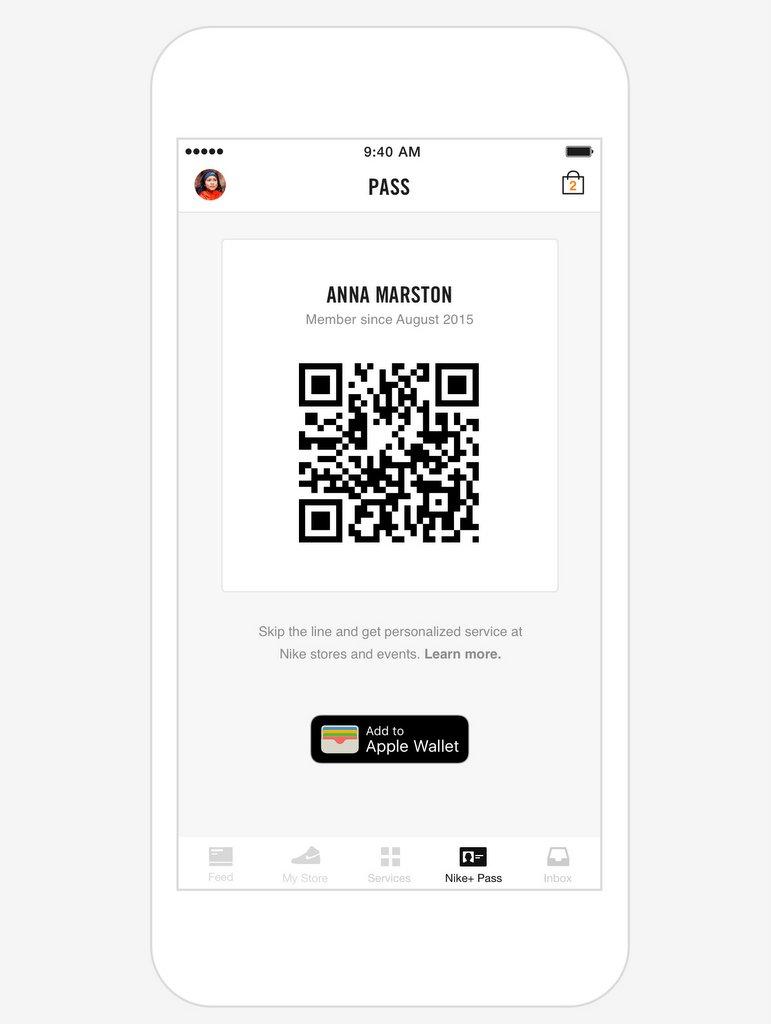 Nike+ App - Pase